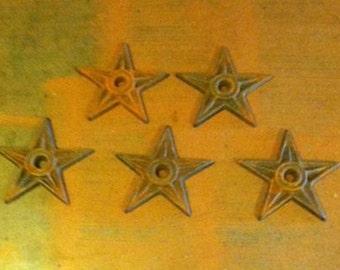 Cast Iron Stars, Art Deco Furniture, Rustic Cowboy Decor, Cowboy Decor