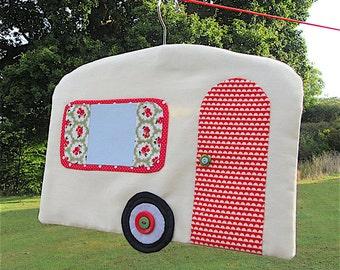 Caravan Peg (Clothes Pin) Bag - Sewing Pattern