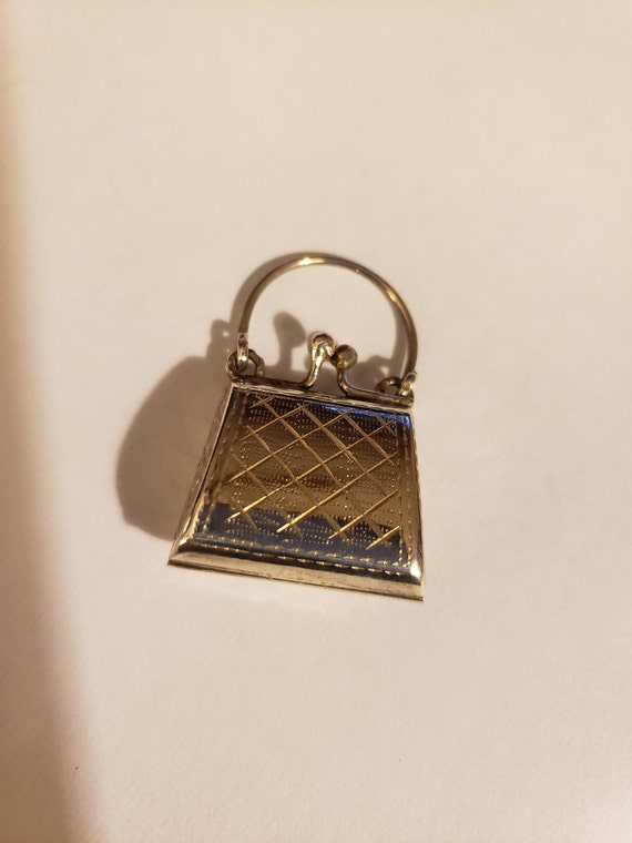Sterling Silver Pocketbook Locket