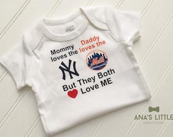 pretty nice 53138 986ee Mets baby | Etsy