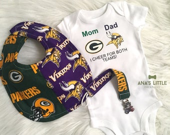 new product a2034 0c63a Packers vikings | Etsy