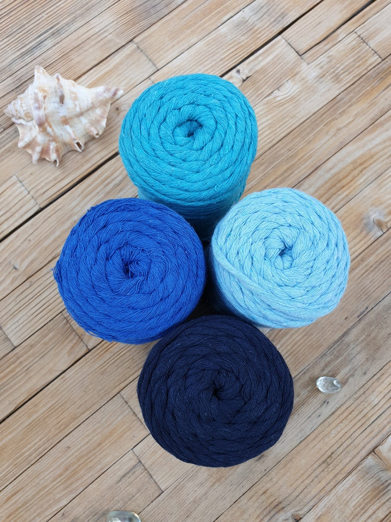 Single strand  One twist Cotton macrame cord bag yarn,perfect for bags and home textile macrame yarn /%100 cotton rope cord macrame yarn