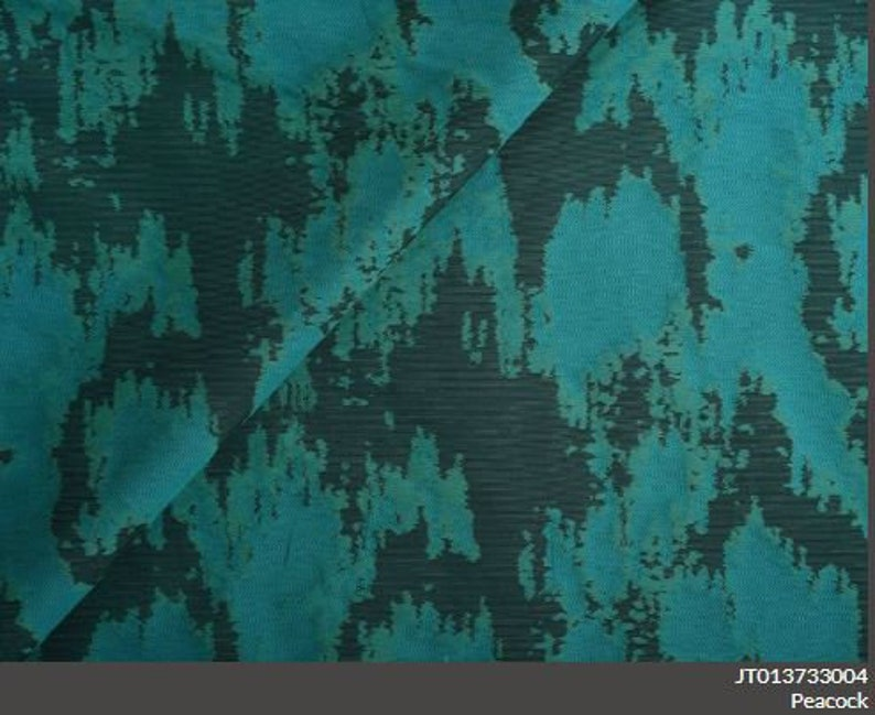 stitched appearance lends decorative texture and vibrant color to interiors, ABRA SHANGRI-LA Jim Thompson Fabric,Its textured