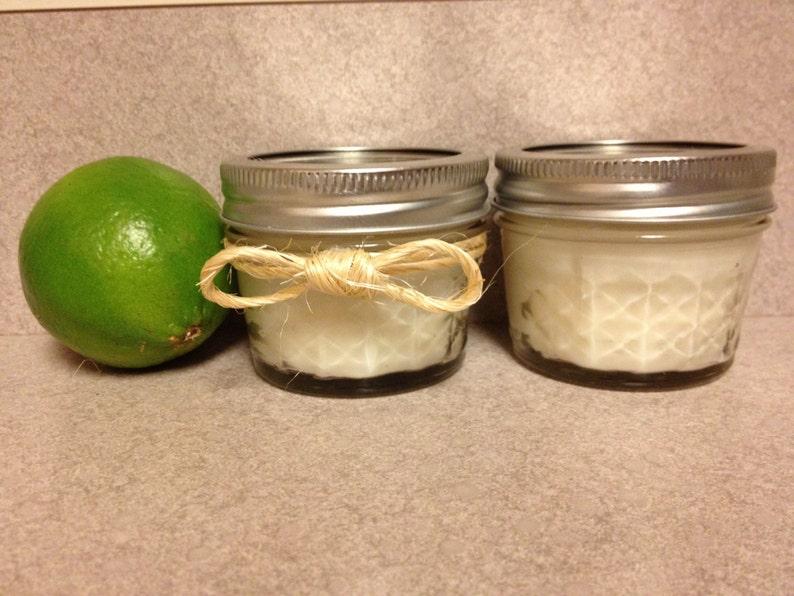 70 Mini 4oz Mason Jar Candles Custom Scent and Color!
