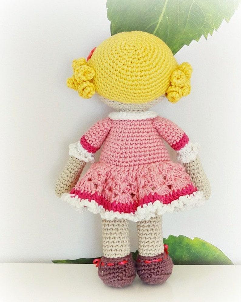 Free Pattern Nice Amigurumi Doll | 992x794