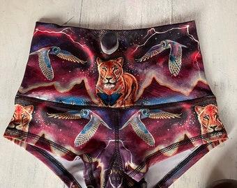 Eco Wear Booty Shorts ~Resilience~ Wearable Art