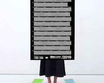 Kühlschrank Jahreskalender : Großer kalender etsy
