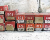 RCA Radio Tubes, NIB Assortment Set 25, Radio Hobbyist, Vintage 1960s