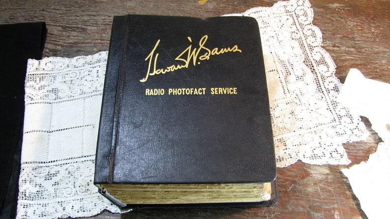Howard W Sams Radio Photofact Service Manual, Hard Cover Volume 7, Radio  Hobbyist, Radio Collector 1940s
