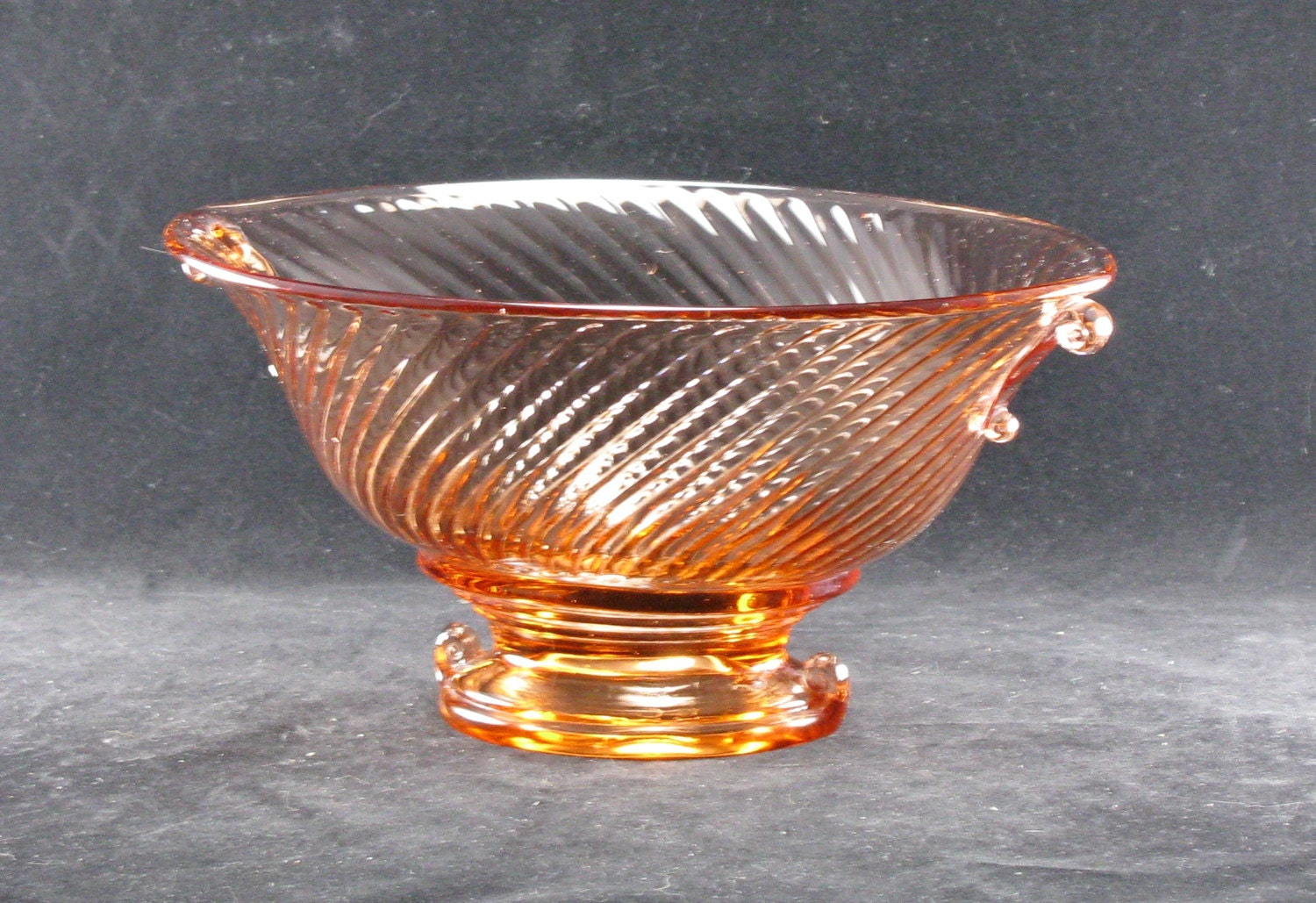 Pink Depression Glass Diana Pattern Federal Glass Co   Etsy
