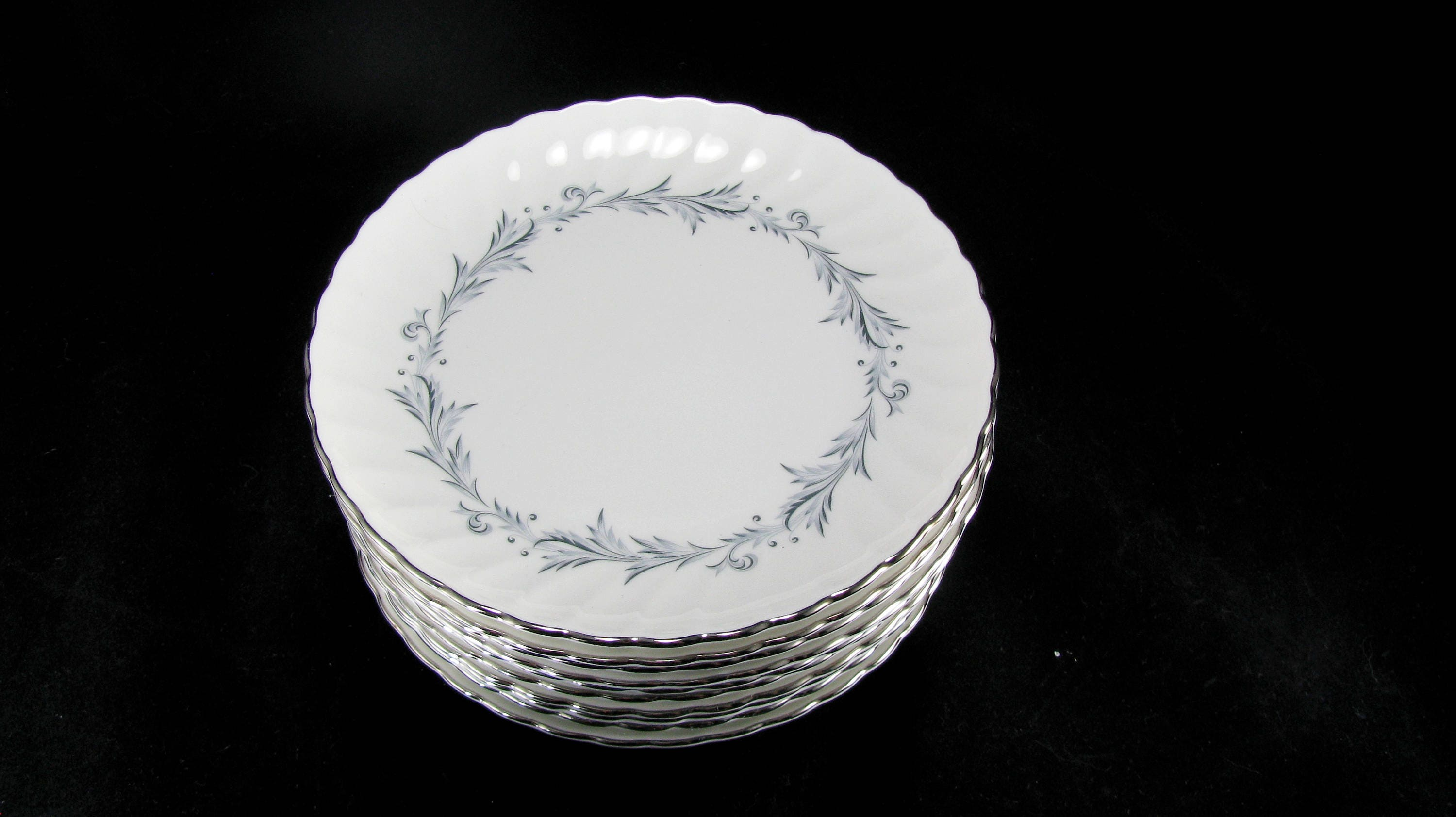 Silhouette Fine China By Syracuse Sonata Pattern Made In