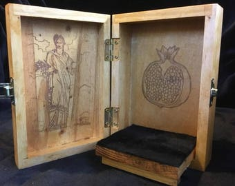 Persephone Portable Travel Altar Box