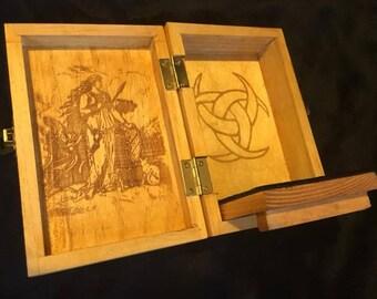 Freyja Portable Travel Altar Box