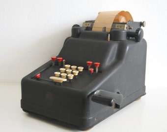 SALE // Industrial calculator by Addo-X. Vintage calculator.