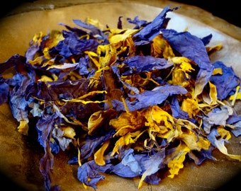 Blue Lotus- Nymphaea Caerulea (whole flower) 1 oz
