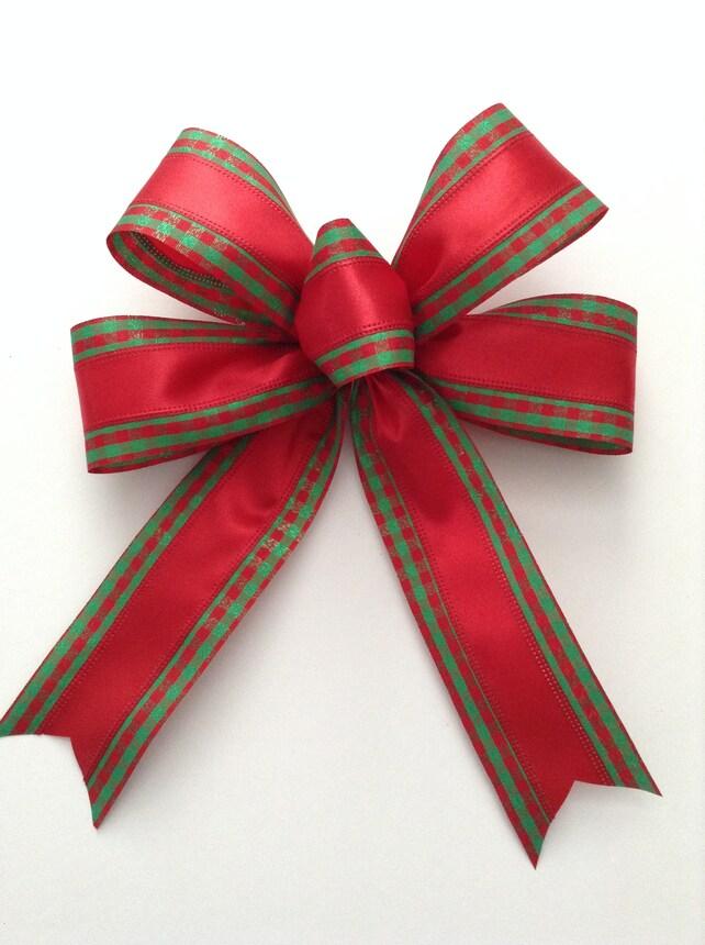Weihnachtsbaum-Bögen / Set aus 6 Bögen / rot und grün Xmas   Etsy