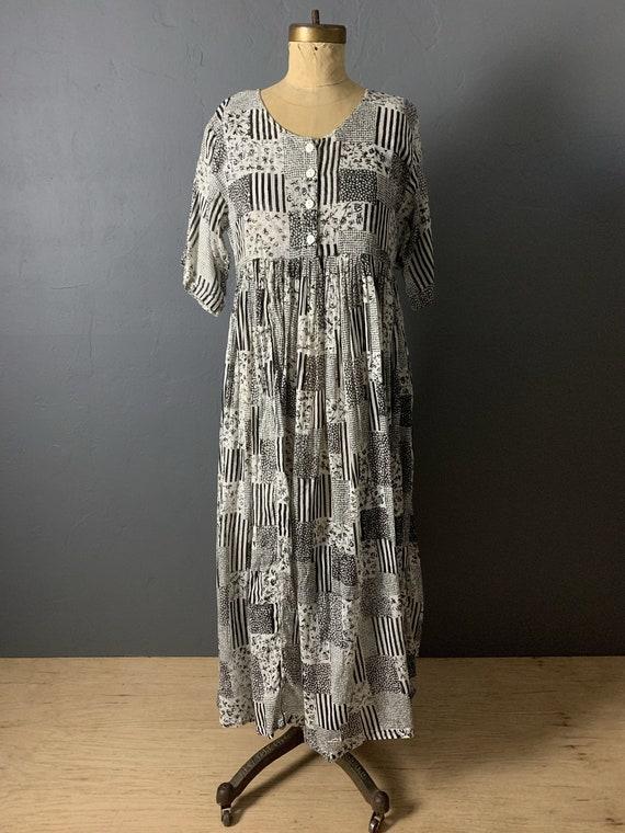 Indian sheer gauze babydoll dress