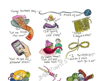 Things Knitters Say