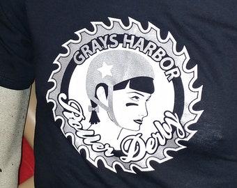 Grays Harbor Roller Derby Shirt