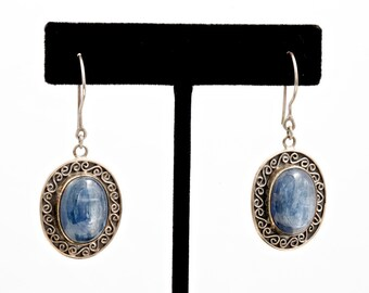 Kyanite 231 - Earrings - Sterling Silver & Kyanite