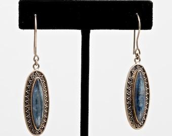 Kyanite 222 - Earrings - Sterling Silver & Kyanite