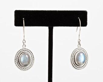 Labradorite 070 - Earrings - Sterling Silver