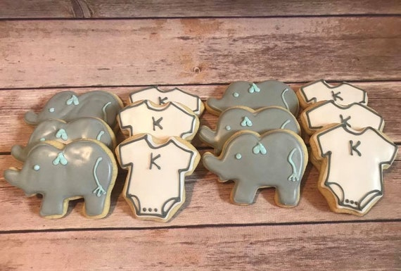 Baby Shower Cookies Gender Neutral Sugar Cookie Assortment Etsy