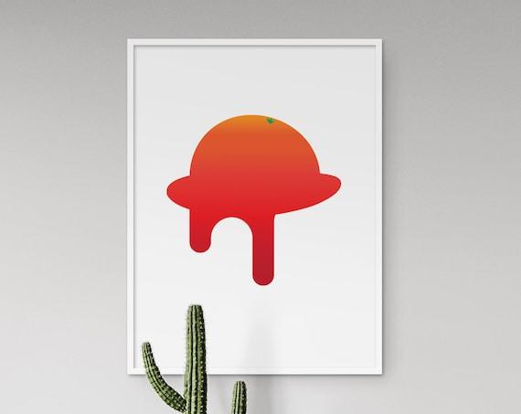 Ultraviolence - A Clockwork Orange Minimal Movie Poster