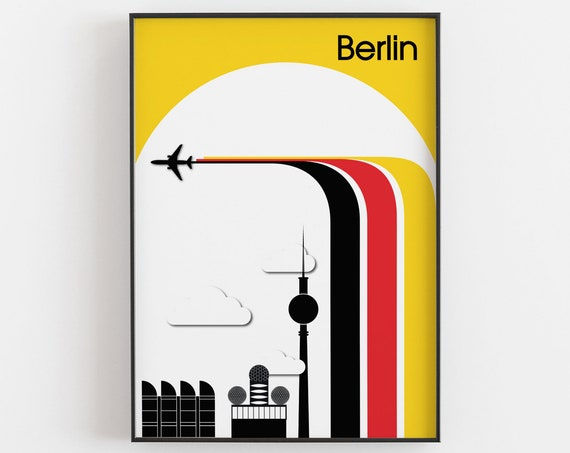 Berlin - Travel Poster