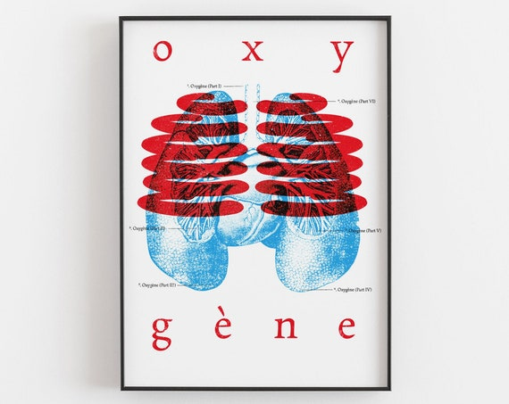 Oxygène - Jean Michel Jarre Art Print