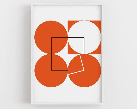 Minimalist Geometric Art Print