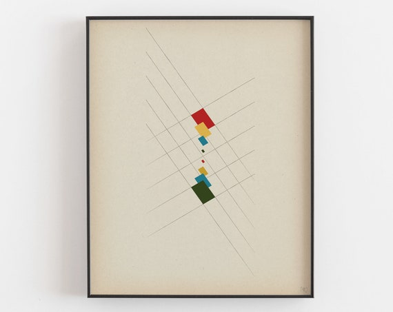 The Spectrum Analyzer- Framed Limited Edition Giclee Art Print