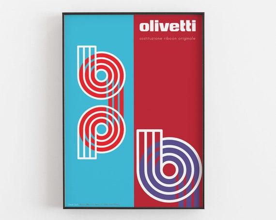 Ribbon - Olivetti Advertising Poster