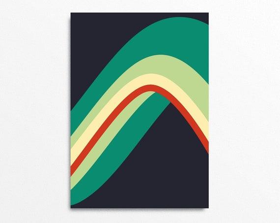 Wave - Op Art Print