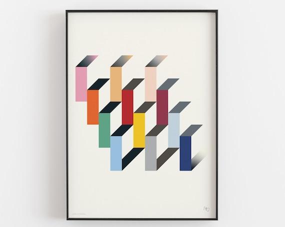Unité d'habitation - Fine Art Print