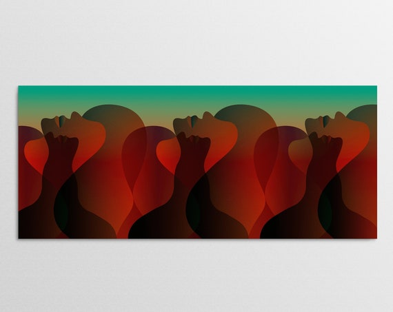 Valley Of The Dolls - Large Art Print