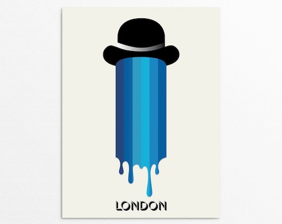 British Summer Time - London Art Print