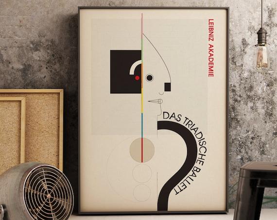 Das Triadische Ballett - Bauhaus Fine Art Print