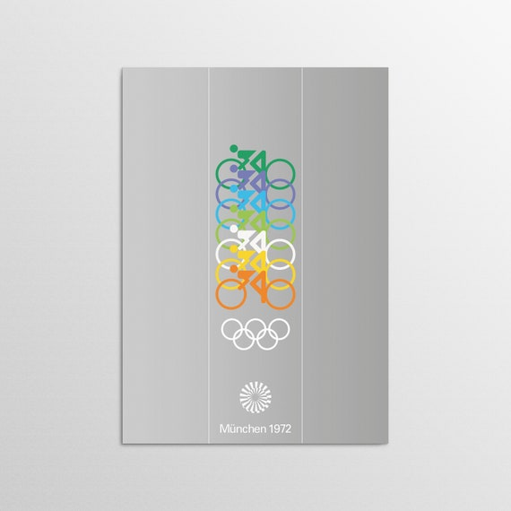 Munich 1972 - Cycling - Olympic Art Print