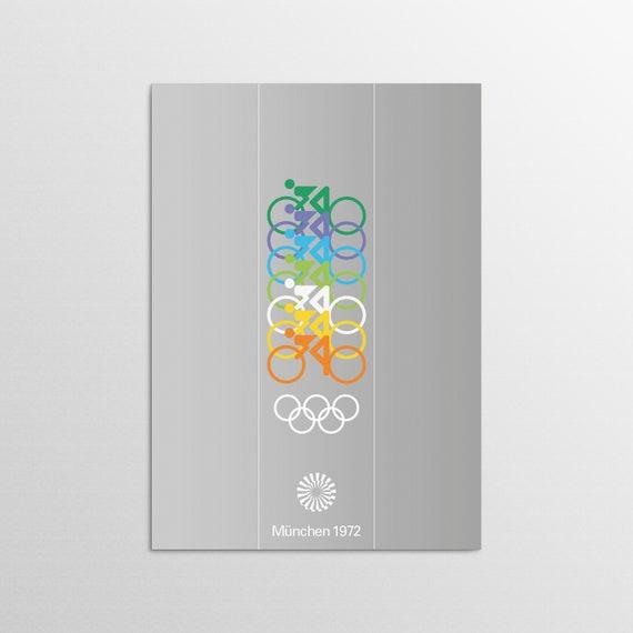 Munich 1972 - Cycling - Olympic Art Print