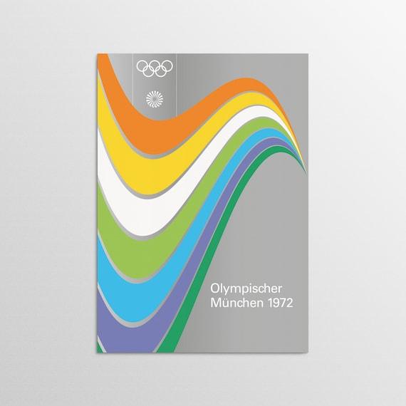 Munich 1972 - Track & Field - Olympic Art Print