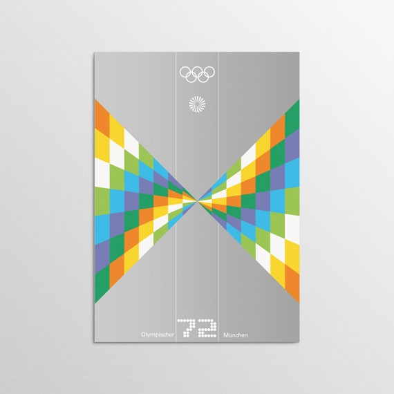 Munich 1972 - Speed - Olympic Art Print