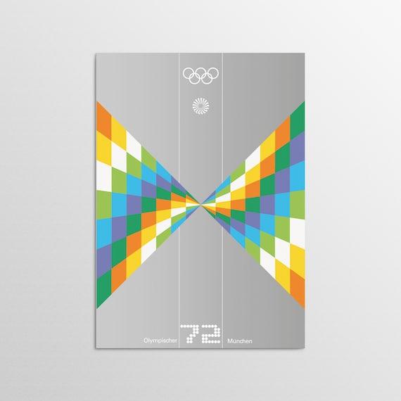 Munich 1972 - Speed - Olympic Art Print
