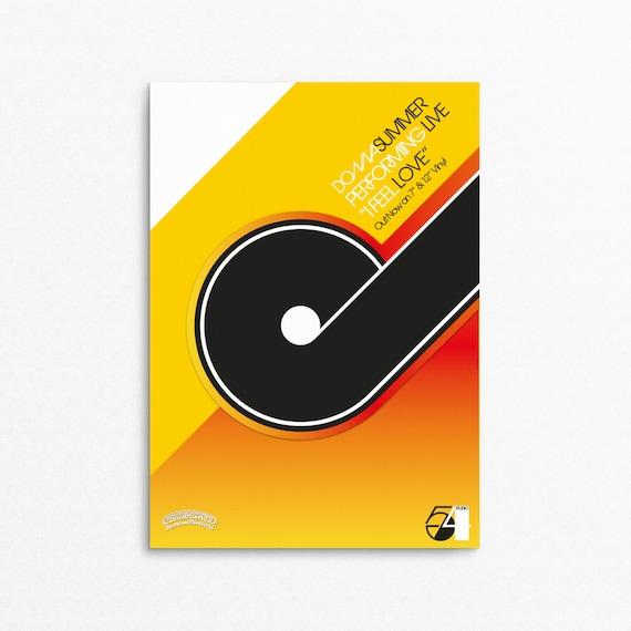 Floppy Disco - Retro Electronic Music (EDM) Poster