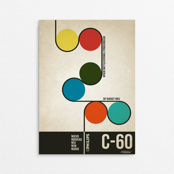 C60 - Retro Style Advertising Poster