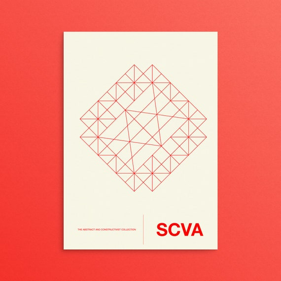 SCVA - Abstract and Constructivism Collection Gallery Poster