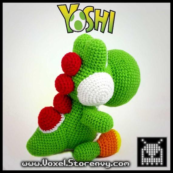Giant Yoshi Crochet Pattern Etsy