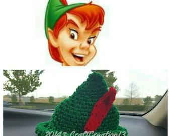 Peter Pan ispirato cappello bambino e copertura del pannolino  34151371659c