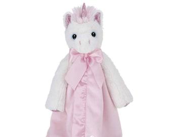 Magical Unicorn Personalized Lovie Blanket for Baby, Unicorn