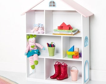 Dollhouse Bookcase White